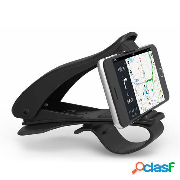 Tablero de instrumentos con rotación de 360 ° antideslizante coche soporte de montaje para iphone gps smartphone