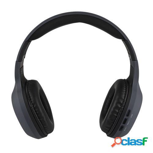 Perfect choice audífonos on ear, bluetooth, inalámbrico, gris