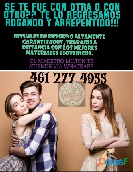 AMARRE SEXUAL, RETORNO DE PAREJA Y MUCHO MAS