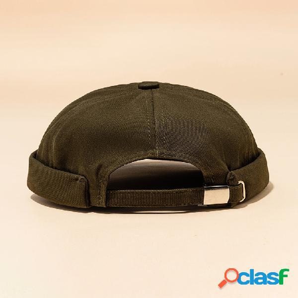 Hombres y mujer casual street retro hip hop innocent landlord sombrero sailor brimless sombreros