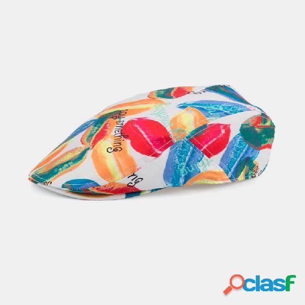 Visera fina transpirable unisex sombrero vendimia gorras de boina hip hop sombrero