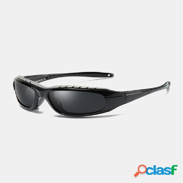 Gafas de sol retro polarizadas para hombre uv400 gafas de sol al aire libre conducción informal gafas