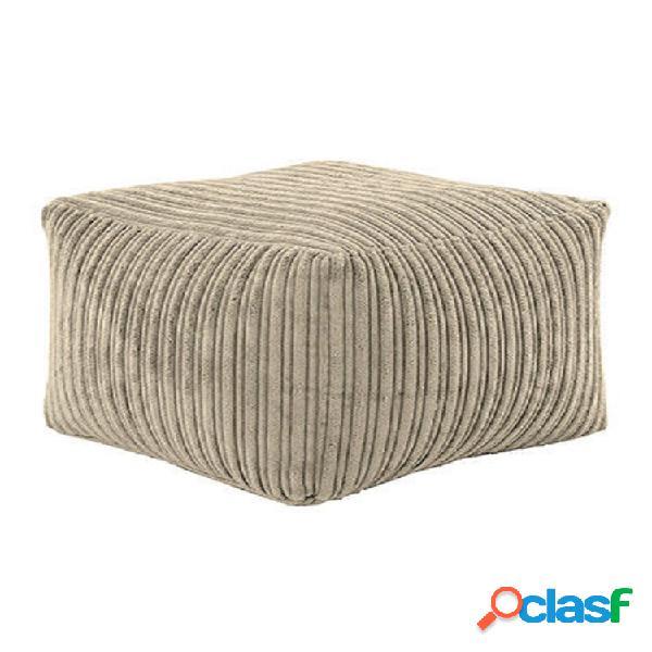 Asiento reposapiés reposapiés juego silla sofá muebles de pana fundas de puf de interior