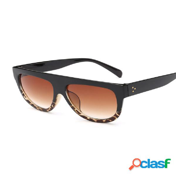 Gafas de sol clásicas anti-uv de marco grande