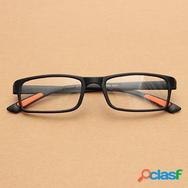 Negro tr90 ligero resina fatiga aliviar lectura gafas ojo salud cuidado