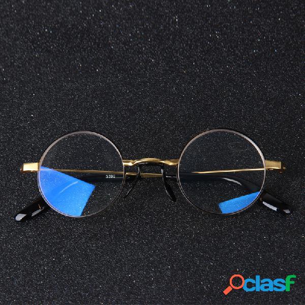 Anti blue glasses round frame reading eyeglasses para mujeres hombres computer eyewear