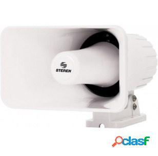 Steren sirena para interiores/exteriores trs-588pb, 92db, blanco