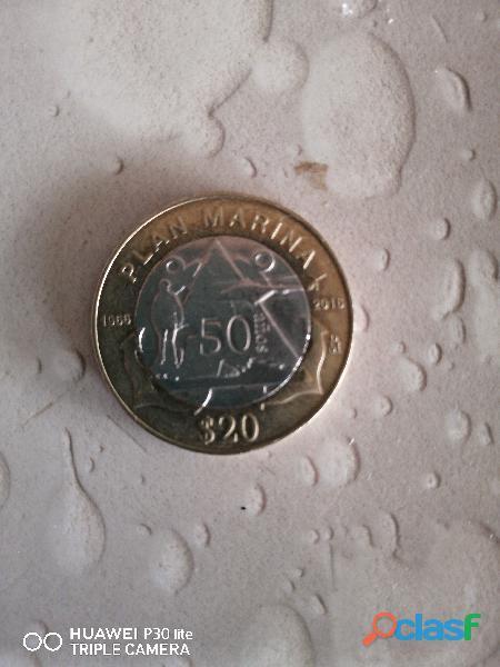 Moneda conmemorativa de la marina