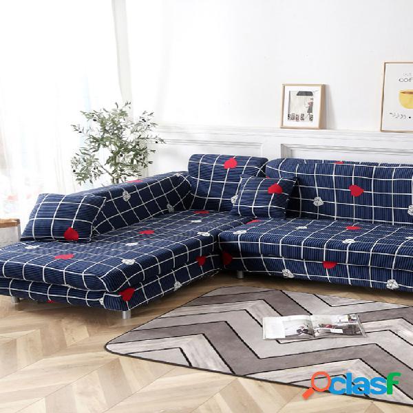 Kcasa 1/2/3/4 asiento elástico sofá funda para sofá fundas para sillón fundas para sala de estar fundas para sillas hogar