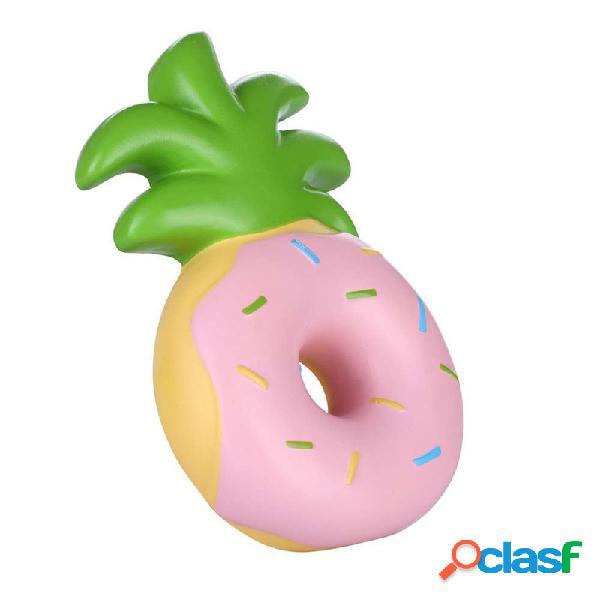 Vlampo squishy jumbo piña donut crecimiento lento embalaje original fruit collection regalo decoración juguete