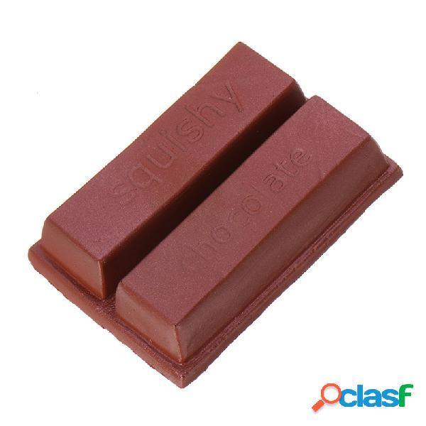 Squishy de chocolate sweet slow rising con embalaje colección regalo decoración juguete
