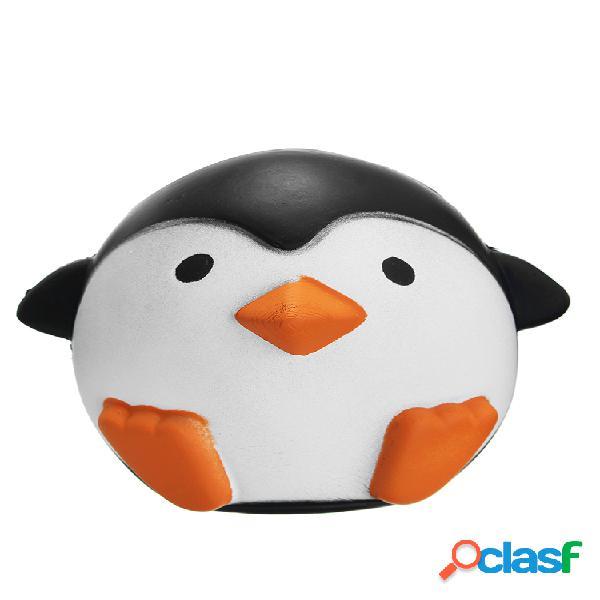 Squishy de pingüino slow rising soft kawaii cute animals colección regalo decoración juguete