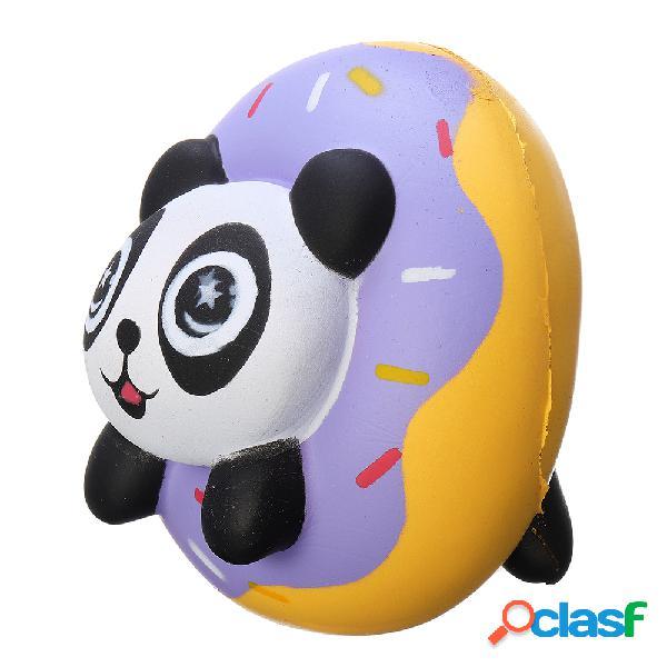 Panda donut squishy soft slow rising colección regalo decoración juguete