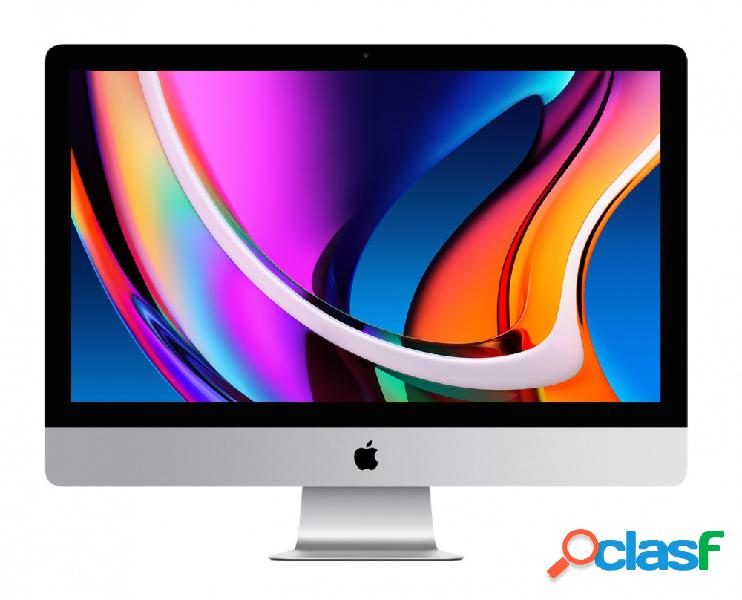 """Apple imac retina 27"""", intel core i5 3.30ghz, 8gb, 512gb ssd, plata (septiembre - 2020)"""