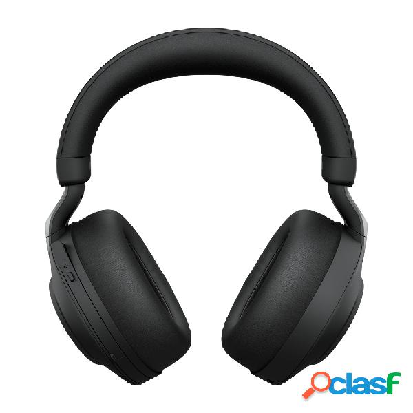 Jabra audífonos con micrófono evolve2 85 link380c ms stereo, bluetooth, inalámbrico, 1.2 metros, 3.5mm, negro
