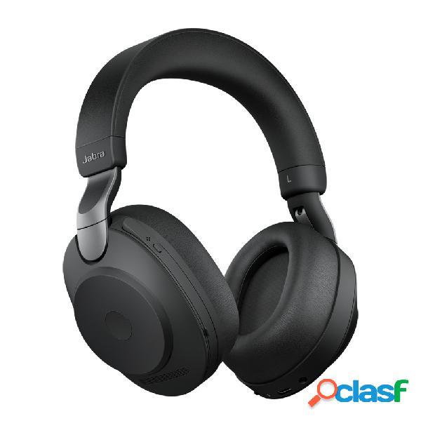 Jabra audífonos con micrófono evolve2 85 link380c uc stereo, bluetooth, inalámbrico, 1.2 metros, 3.5mm, negro