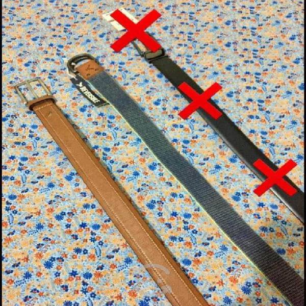 Cinturones de hombre 100% originales