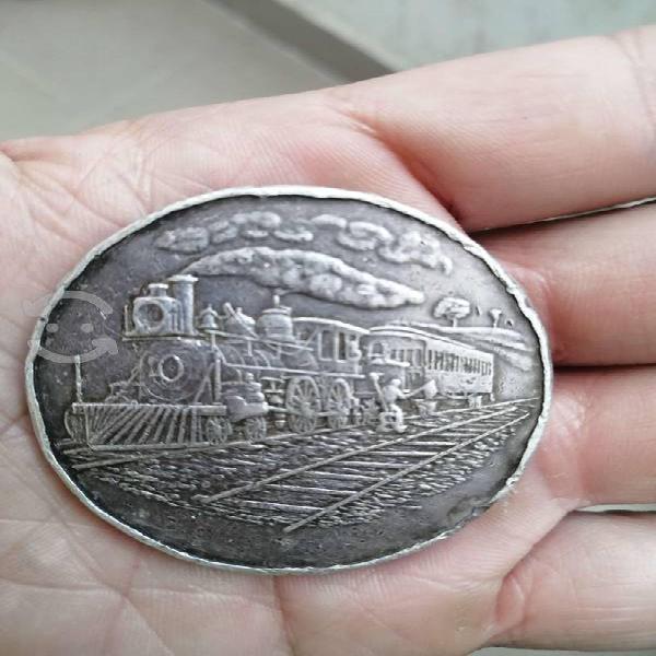 Moneda de plata pura