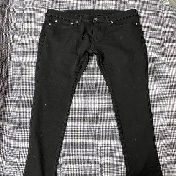 Pantalón abercrombie & fitch (color negro)