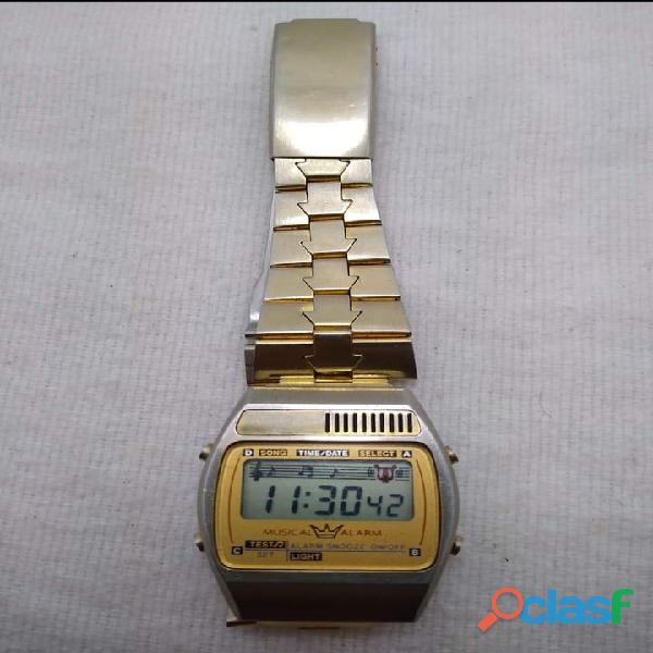 Reloj ambassador digital vintage 80's reloj de los 80's