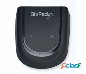 Biopadgo! monitor de sanitización, detector de volumen de alcohol en la piel para sistemas de control de acceso