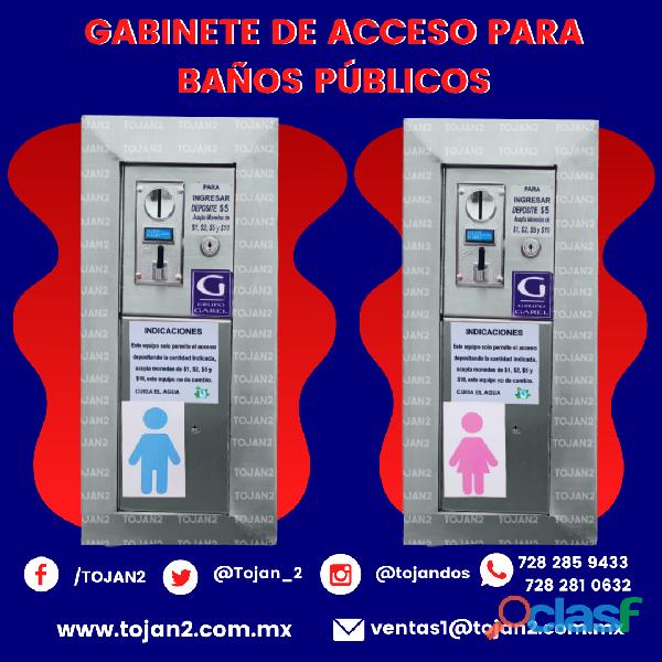 GABINETE DE ACCESO PARA BAÑOS PÚBLICOS