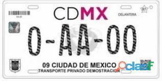 Renta de placas de taxi cdmx