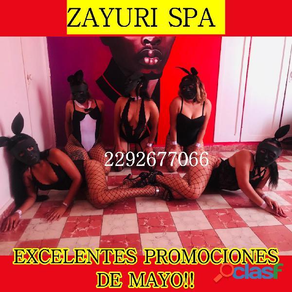Sensualidad y Erotismo al 100% Solo en Zayuri Spa