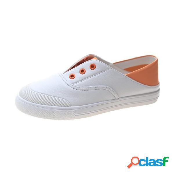 Mujer slip on soft botín casual casual zapatillas