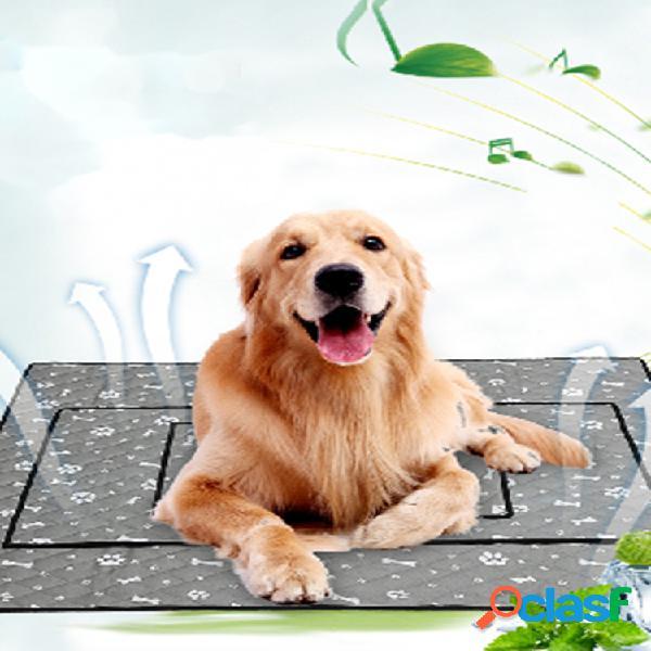 Summer cooling pet mat estera antideslizante perro gato mat cooling pet mat