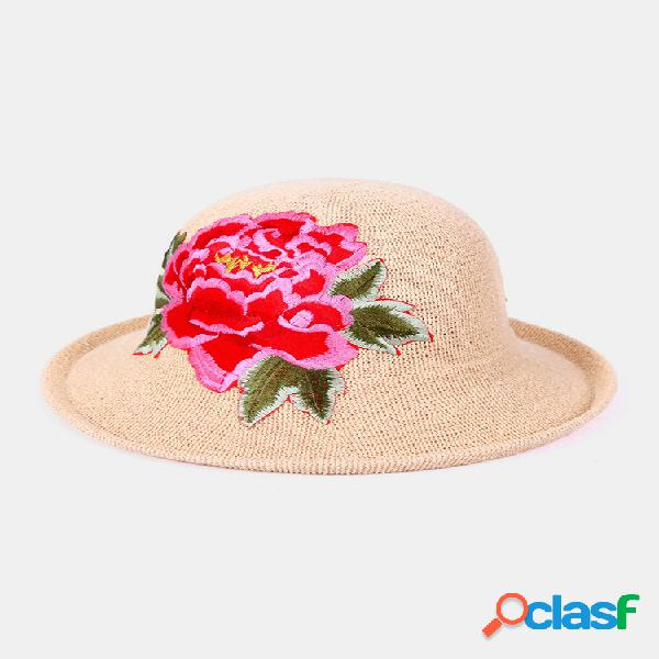 National wind sombrero mujeres grandes playa sombrero viajes playa arena sombrero