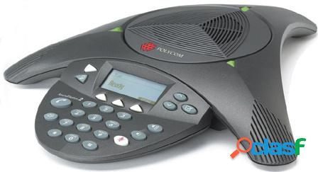 Poly teléfono análogo soundstation2, alámbrico, 300 - 3300hz (no expansible)