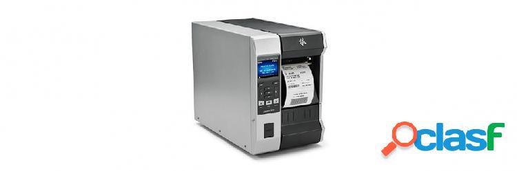Zebra zt610, impresora de etiquetas, transferencia térmica, 300 x 300dpi, usb, bluetooth, negro/gris