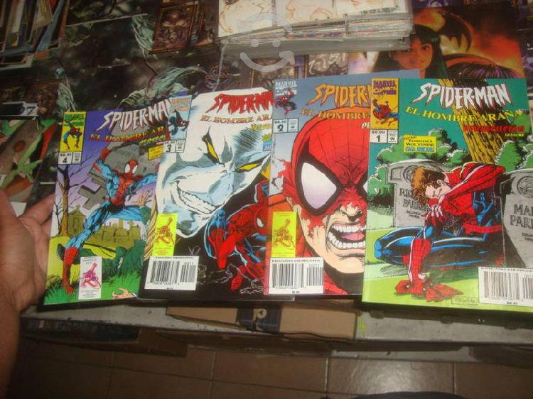 4 comics spiderman editorial marvel mexico