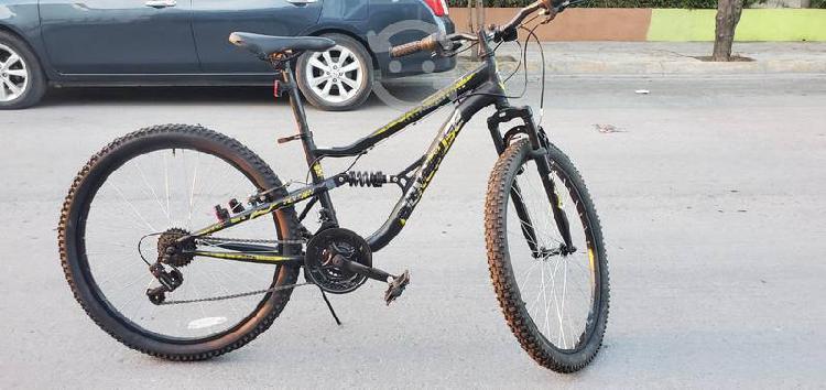 Bicicleta mongoose r26 doble suspensión aluminio
