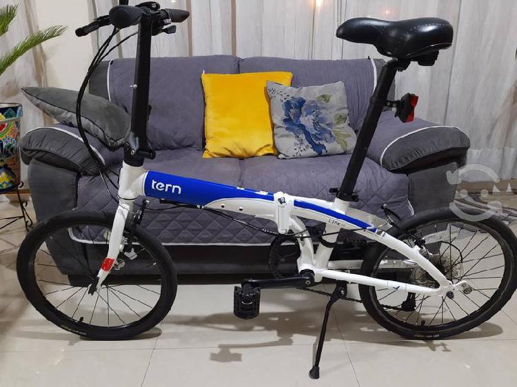 Bicicleta plegable seminueva tern