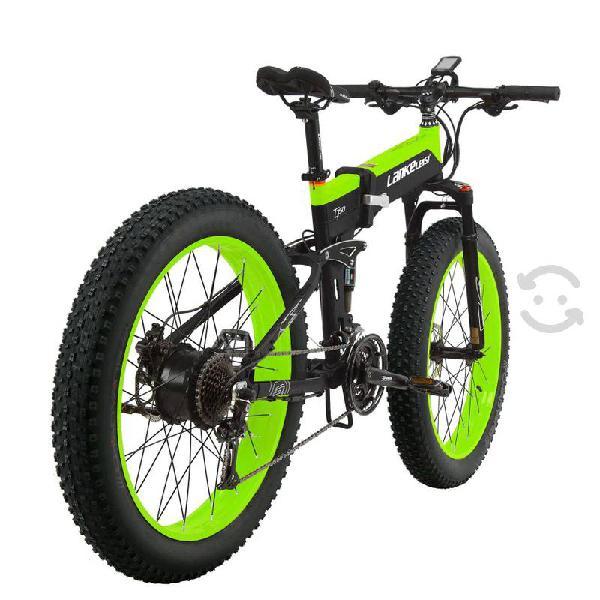 Lankeleisi t750 folding fat tire electric road bik