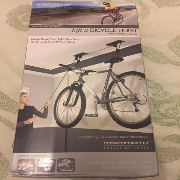 "Rack para bicicletas ""colgante"""