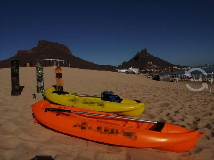 Renta de kayaks y sandboards