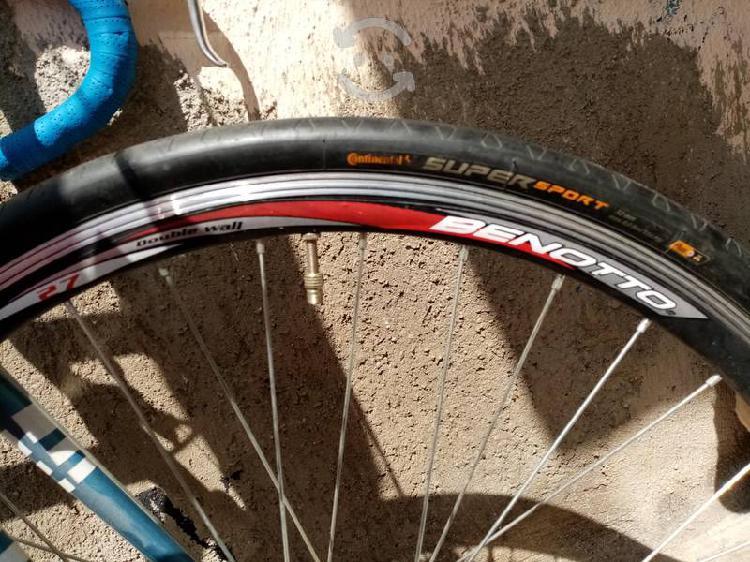 Bici de aluminio rodado 27