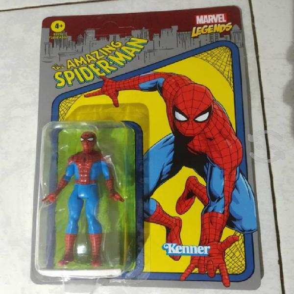 Hombre araña spiderman retro