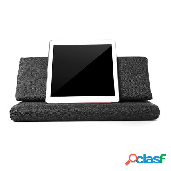 Soporte perezoso de almohada plegable universal para tableta de teléfono inteligente soporte antideslizante soporte de teléfono de escritorio