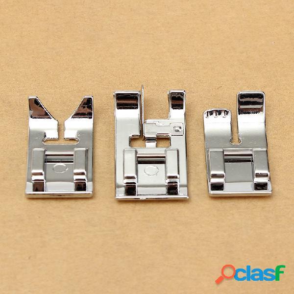 Juego de 14 prensatelas a presión para máquinas de coser viking husqvarna 335330325