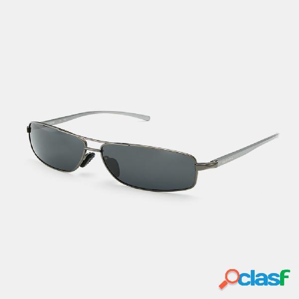 Gafas de sol con montura para hombre al aire libre gafas deportivas polarizadas para conducir