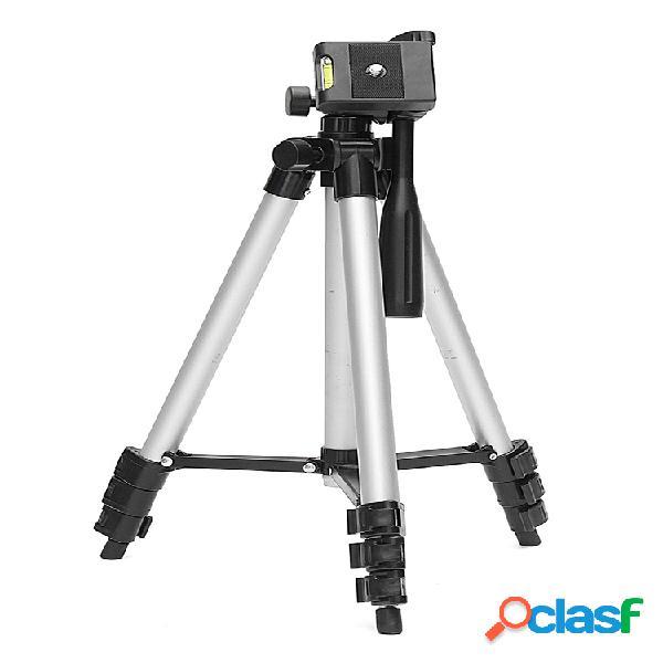 Universal professional cámara trípode soporte de montaje + soporte para teléfono para iphone