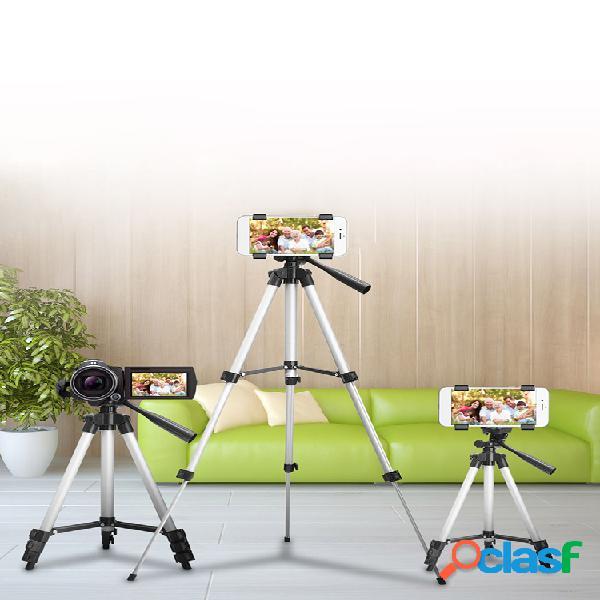 Estirable cámara trípode soporte de montaje en soporte para teléfono celular iphone + bolsa