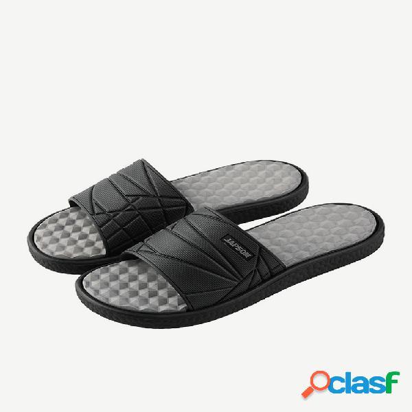Chanclas con punta abierta para hombre sandalias comfy soft home zapatillas