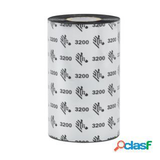Cinta zebra 3200 wax/resin negro, 80mm x 540m