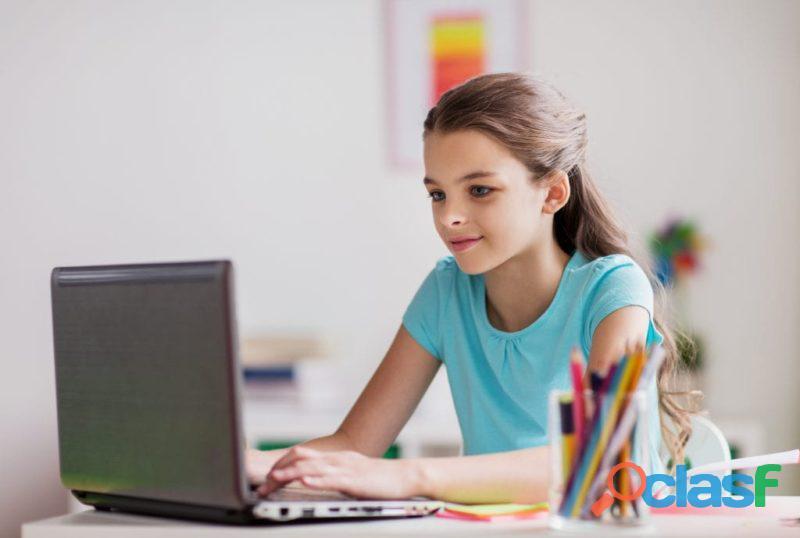 Clases de inglés para niños y adultos en línea