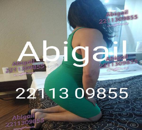 Abigail milf discreta lista para una aventura contigo amor